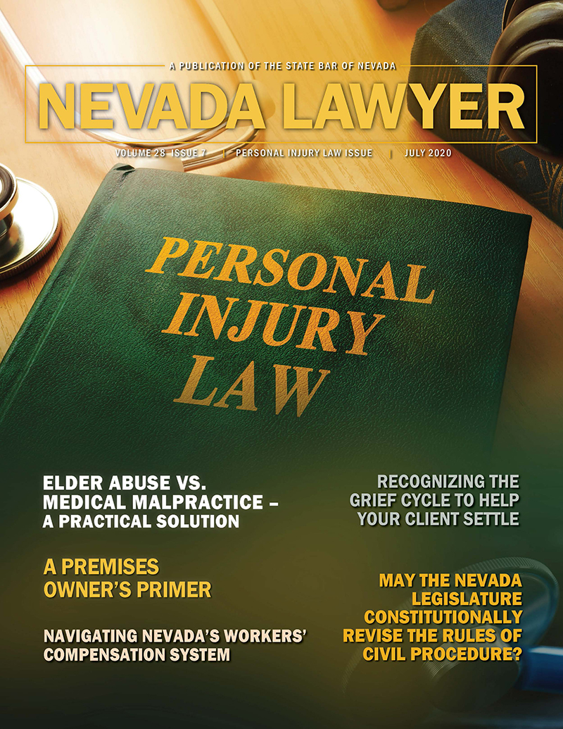 Nevada Lawyer Magazine July 2020