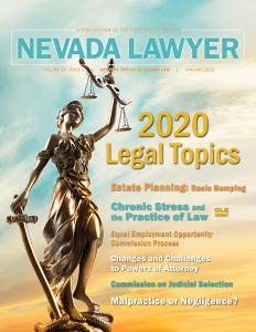 Jan. 2020 Nevada Lawyer