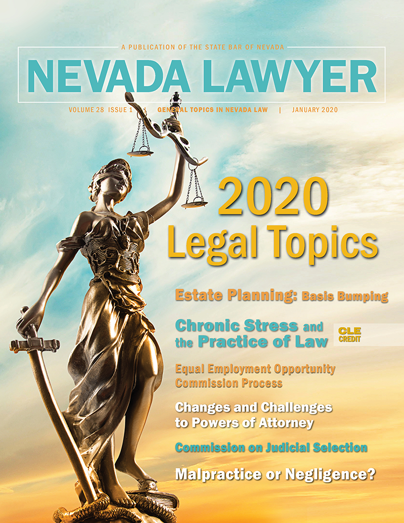 Jan. 2020 Nevada Lawyer