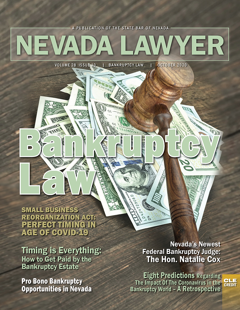 Nevada Lawyer Magazine October 2020