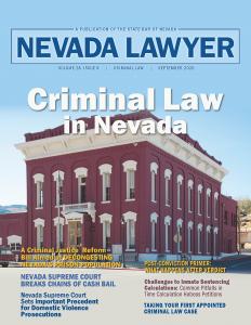 Nevada Lawyer September 2020