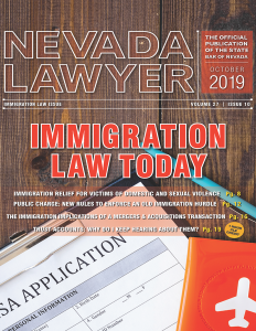 Nevada Lawyer - October 2019